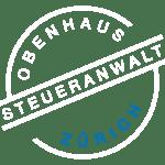 OBENHAUS Steueranwalt Zürich Logo negativ
