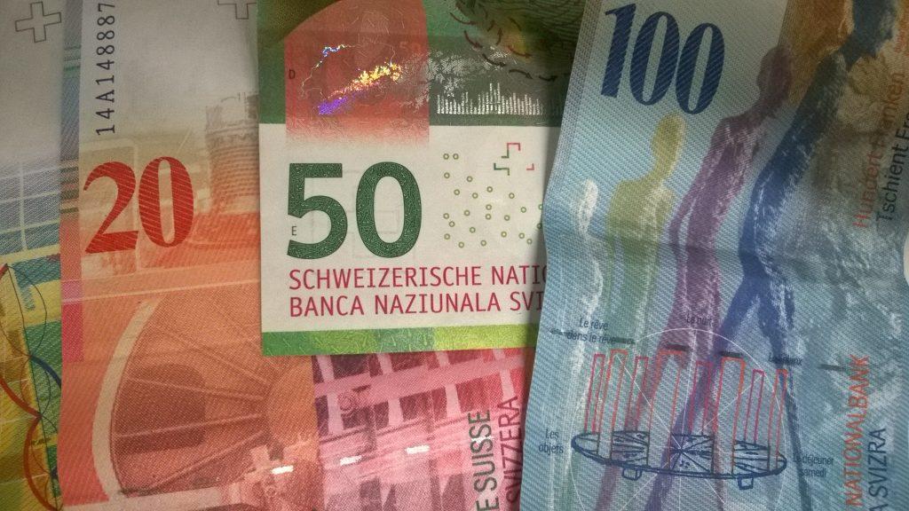 Schweizer Franken-Scheine