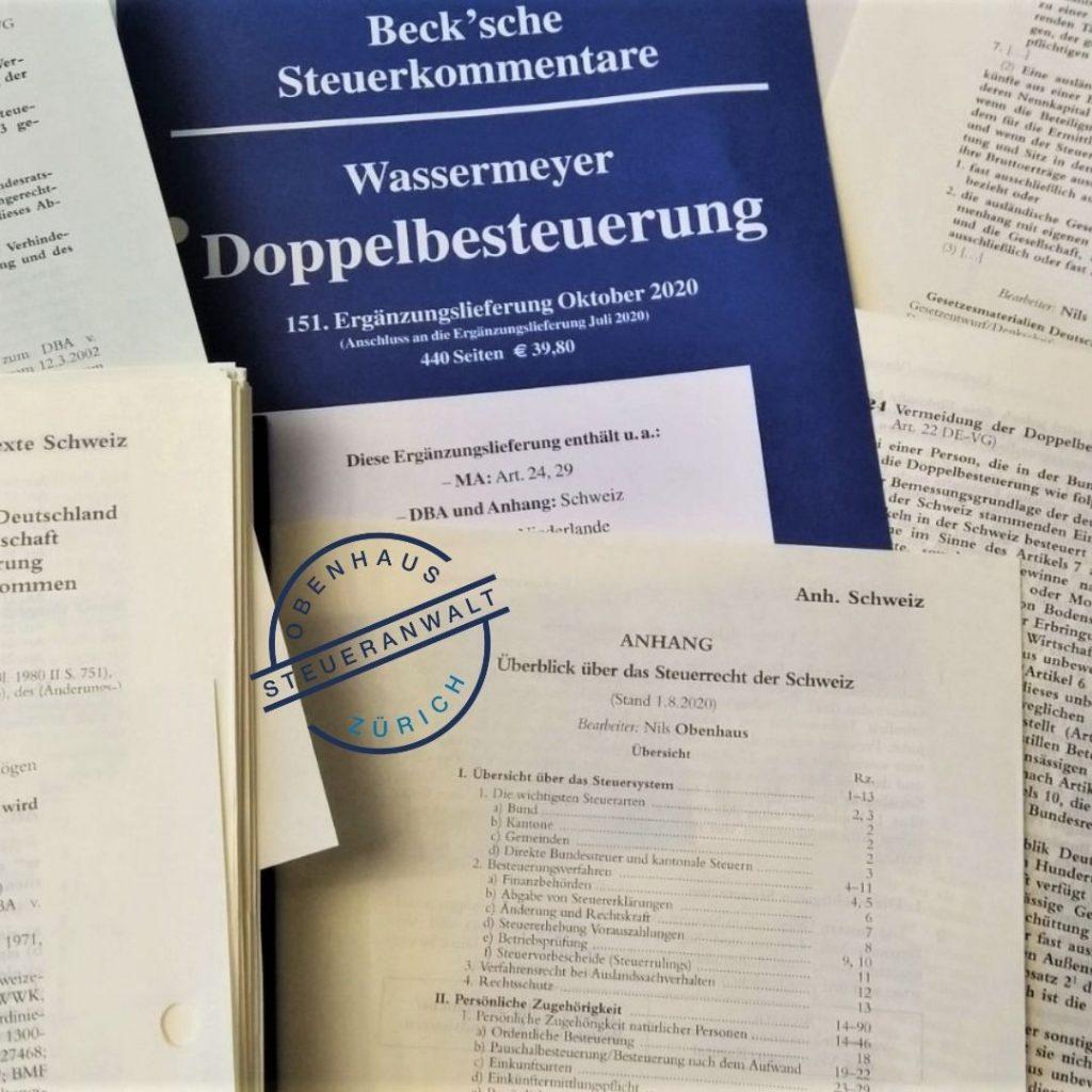 Wassermeyer Doppelbesteuerung: DBA